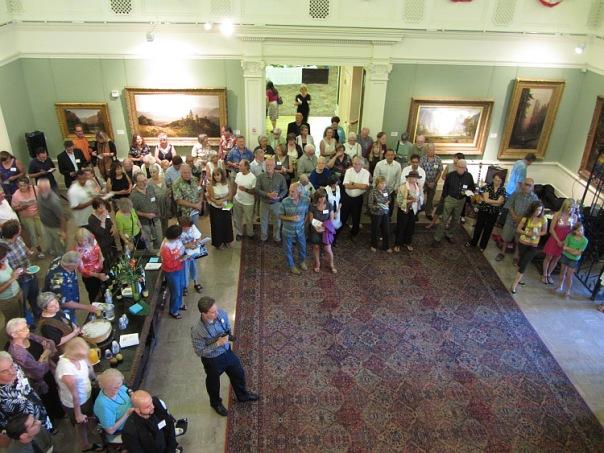 SAL Awards Ceremony on July 5, 2012, Haggin Museum