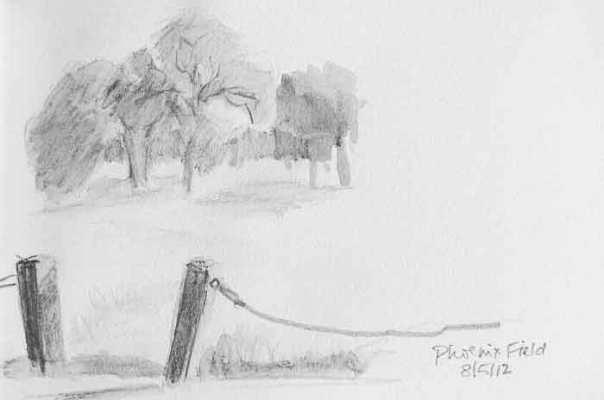 Gateway Sketch by ©2012 Stephanie Benedict