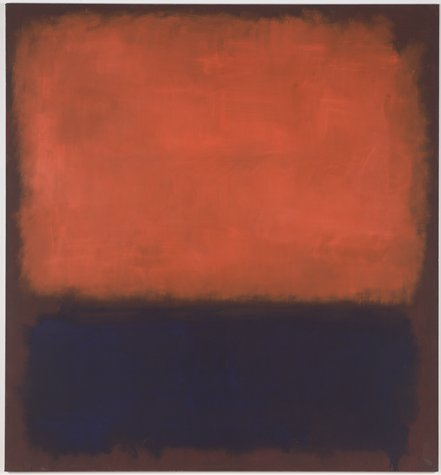 Mark Rothko No.14 San Francsico Museum of Modern Art