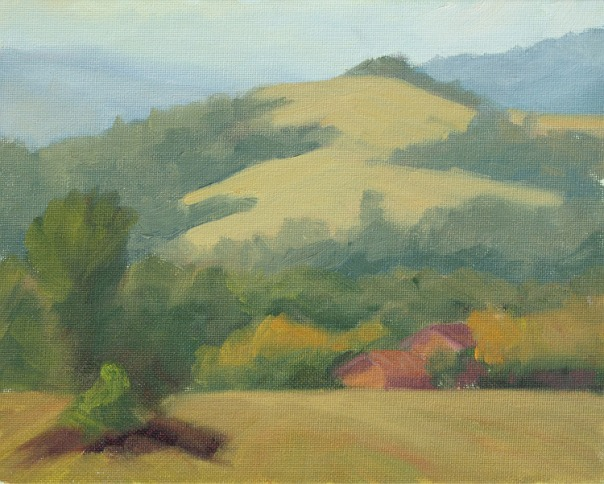 Terra Firma Study ©2011 Stephanie Benedict oil 8 x 10 inches