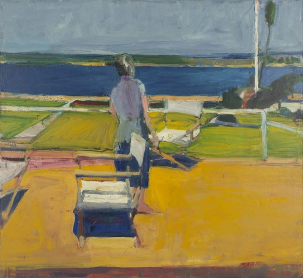 Richard Diebenkorn Figure on a Porch